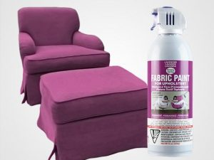 Lavender Upholstery Fabric Spray Paint