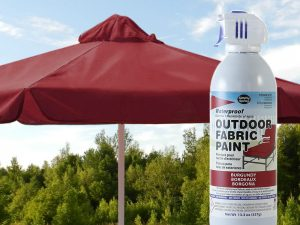Burgundy Waterproof Outdoor Fabric Spray Paint