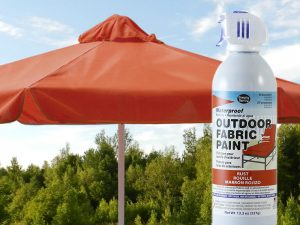 Rust Waterproof Outdoor Fabric Spray Paint