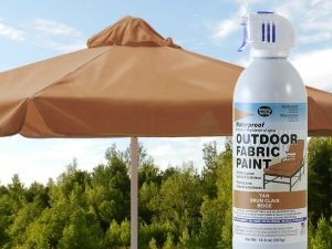Tan Waterproof Outdoor Fabric Spray Paint