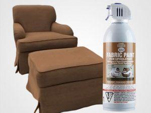 Camel Upholstery Fabric Spray Paint