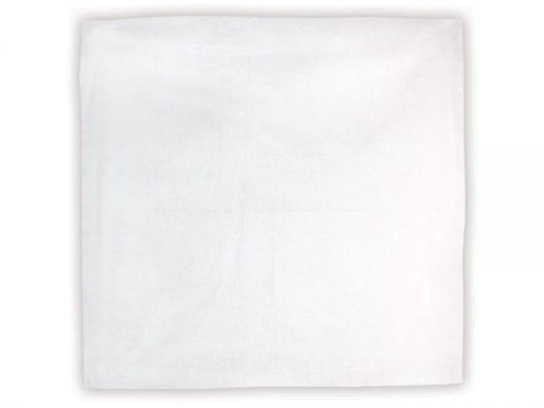 Blank White Bandana