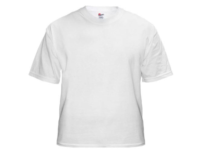 blank white t shirt perfect for tie dyeing stenciling. Black Bedroom Furniture Sets. Home Design Ideas