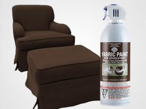Saddle Brown Upholstery Fabric Spray Paint