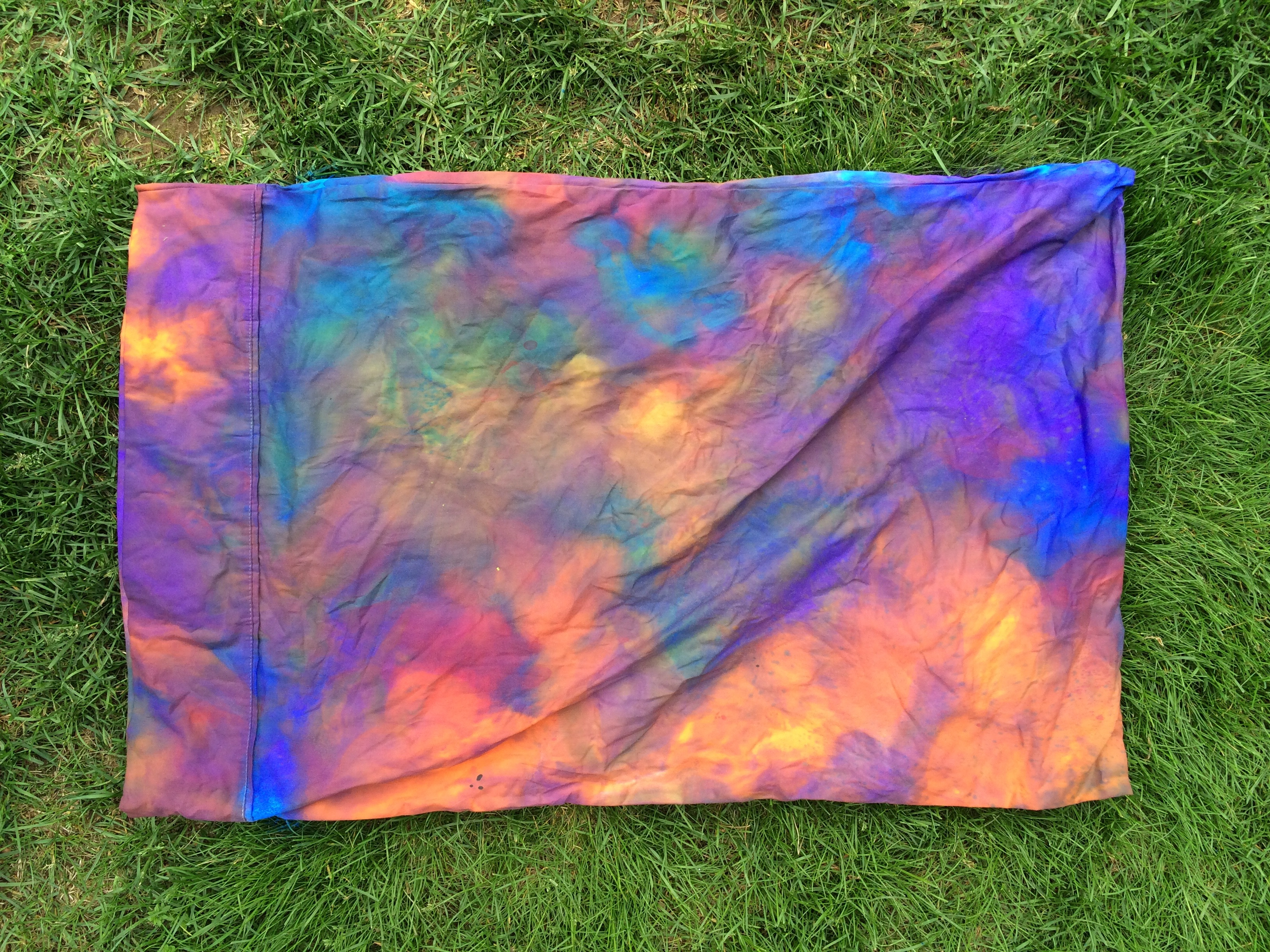 Tie-Dye Pillow Cases