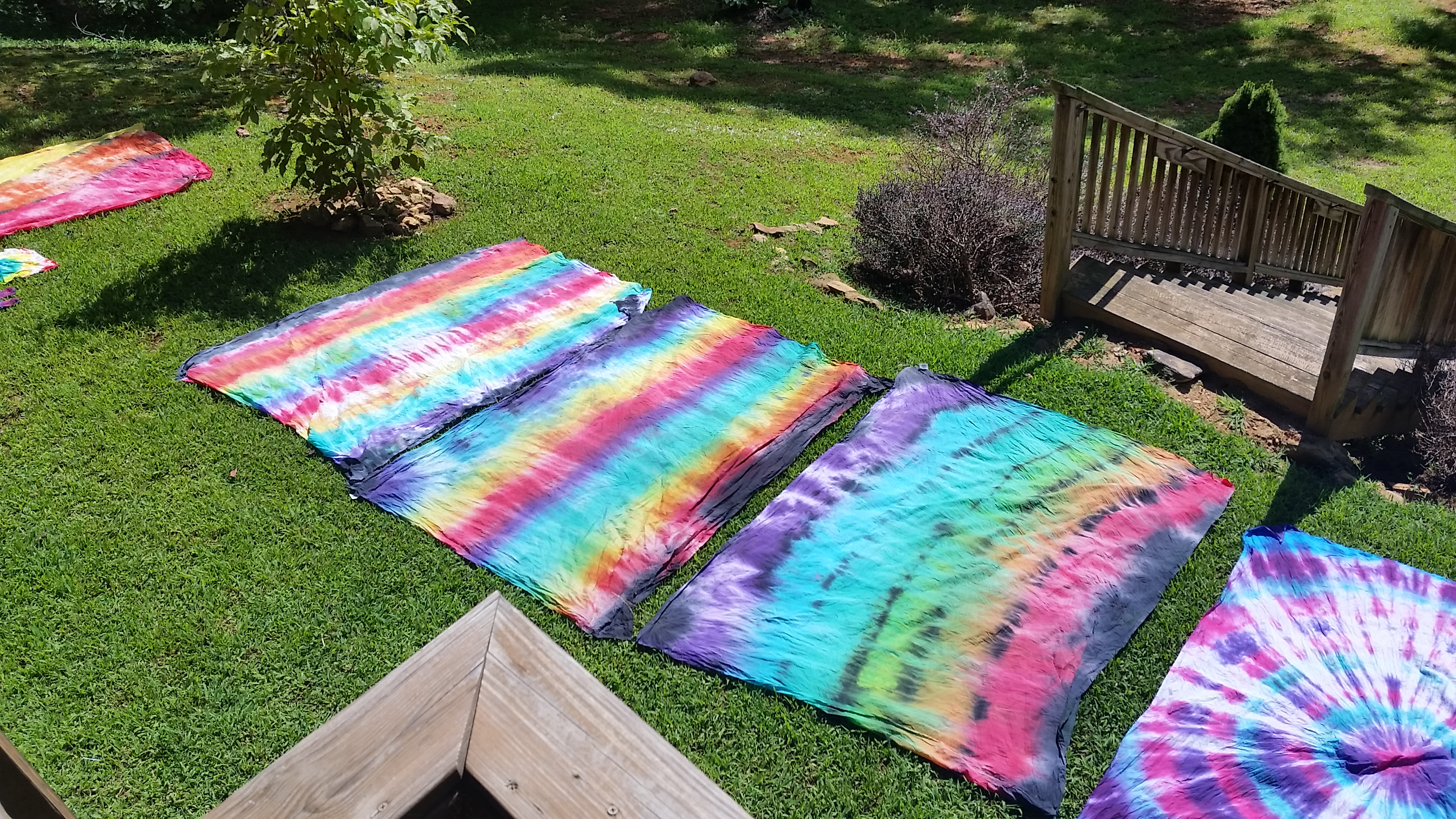 DIY Tie-Dye Tapestries